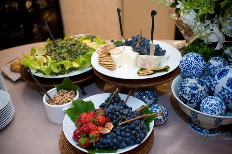 Food & Drink Photos - Fruit & Cheese Display - Inside Weddings