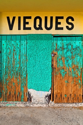 Colorful details of Vieques Island in Puerto Rico at W Retreat & Spa, Vieques Island