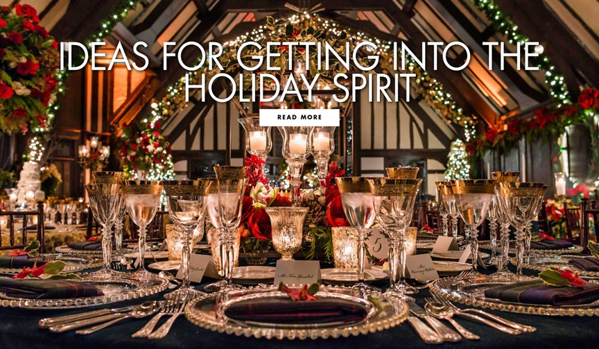 Ideas for getting into the holiday spirit expert tips for holiday decor decorating and entertaining