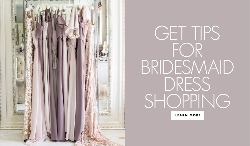 get tips for bridesmaid dress shopping