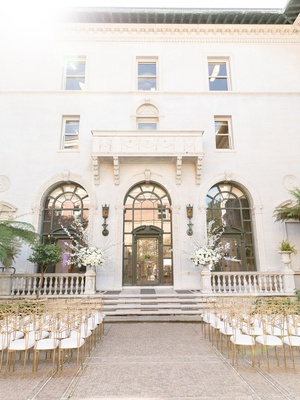 james leary flood mansion san francisco wedding ceremony