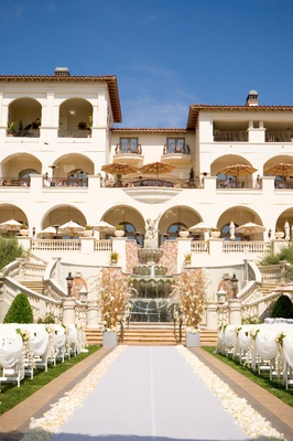 The St. Regis Monarch Beach outdoor wedding