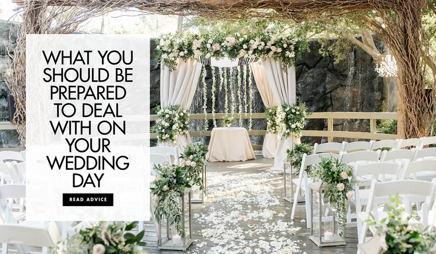 what to prepare for in advance of your wedding