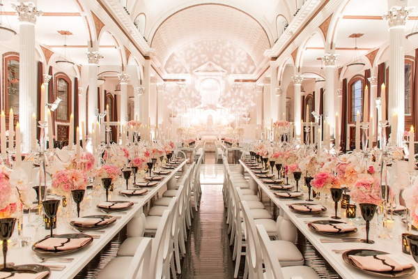 Blush Vibiana Wedding