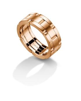 Furrer Jacot 71-27690 rose gold wedding band