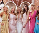 Tamra Barney wedding with RHOC cast members
