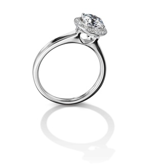 Furrer Jacot 53-66730-1-W white gold engagement ring