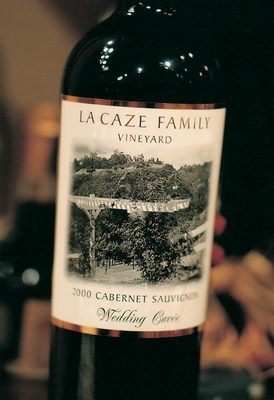 Special wedding cuvée from family vineyard