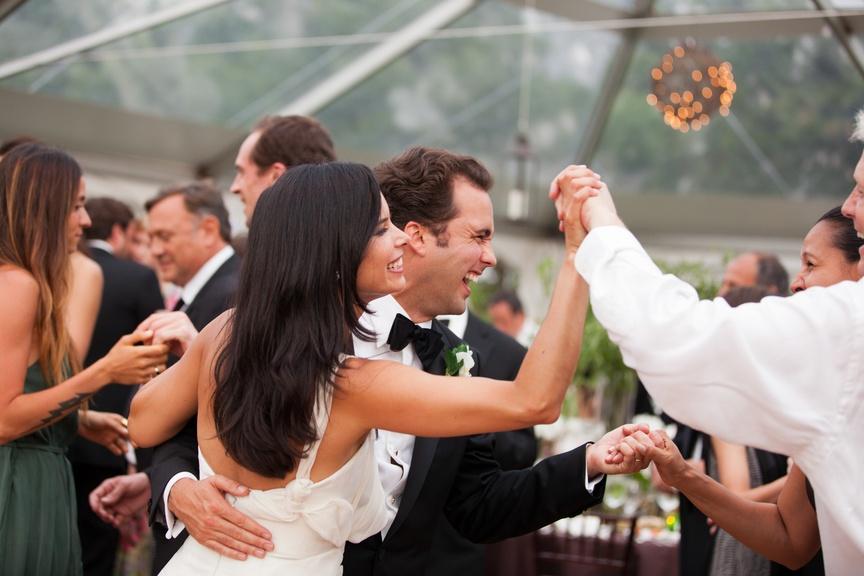 A Hampton's Backyard Wedding