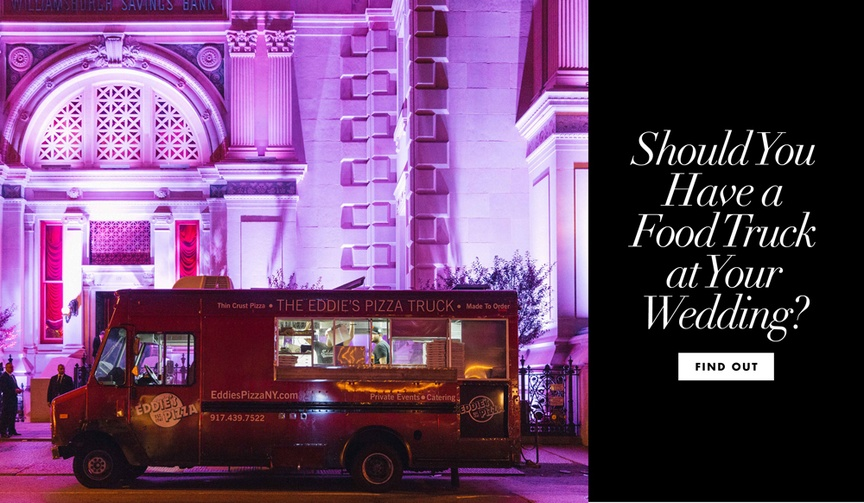 Food truck wedding trend ideas how to include food trucks in your catering plan