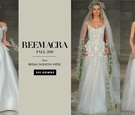 See more wedding dresses from the fall 2018 bridal collection by Reem Acra.