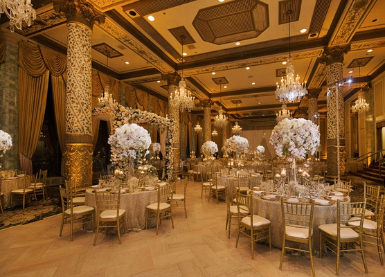 Elegant Wedding With Gold Amp Champagne Color Palette In Chicago