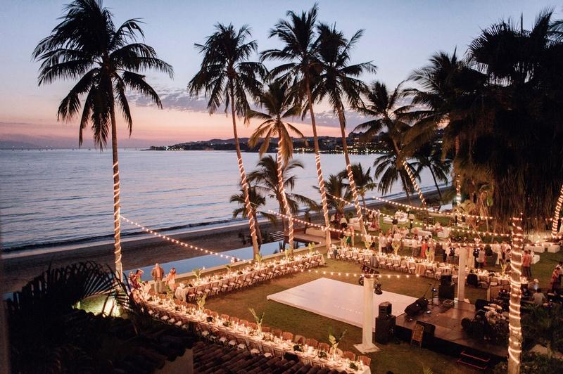 Neutral Amp Tropical Fall Destination Wedding On The Beach In