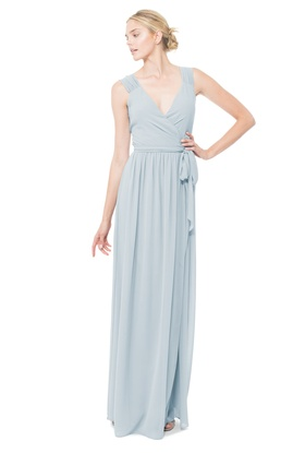 Have a wedding or black tie affair to attend? The ease of this elegant Newbury wrap dress helps make