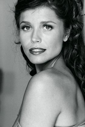Bridal portrait of actress