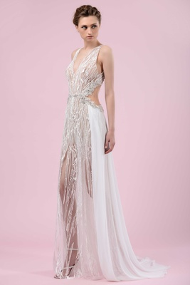 Wedding dresses gemy malouf 2016 bridal collection inside weddings gemy maalouf 2016 sexy wedding dress with sheer details and back cutouts junglespirit Gallery