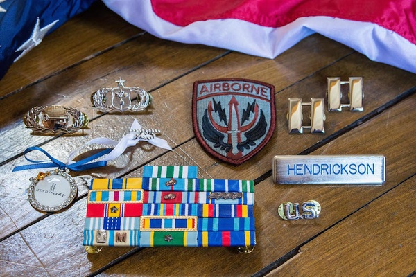 USAF USMC military patches, medals, and stripes