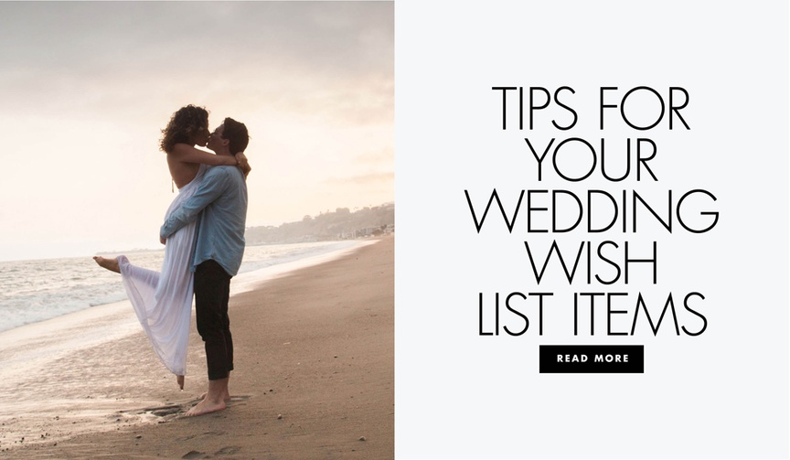 tips for your wedding wish list registry items gearys williams sonoma gift registry