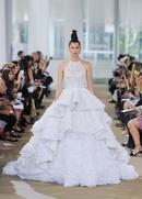 Ines di Santo Spring 2018 bridal collection Kensington wedding dress halter neckline ball gown