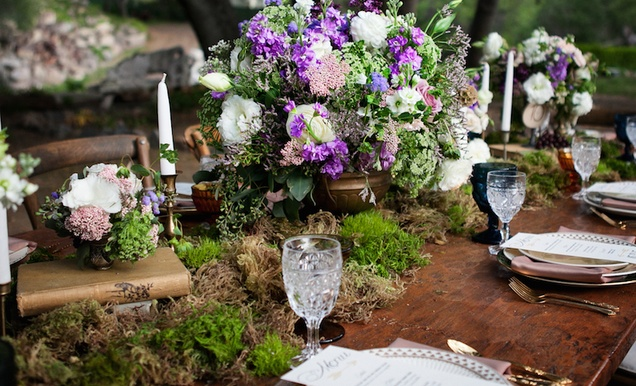 Rustic Inspirational Wedding Shoot In A Forest With Woodsy