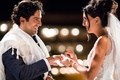 night outdoor wedding ceremony jewish traditions ring exchange tallit wedding ideas