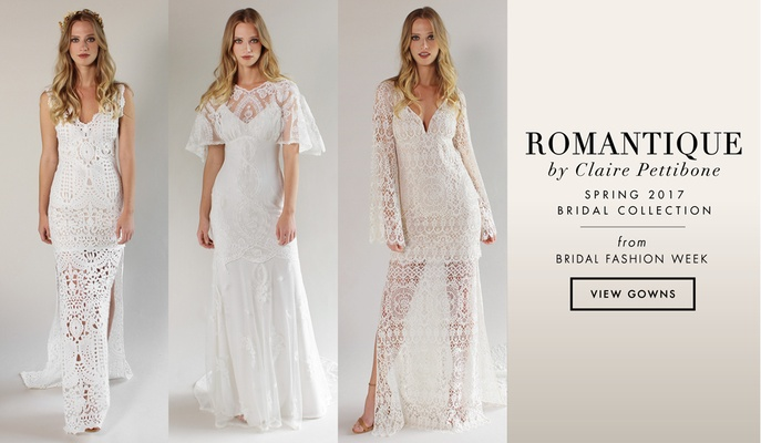 Bridal Fashion Week: Romantique By Claire Pettibone Spring
