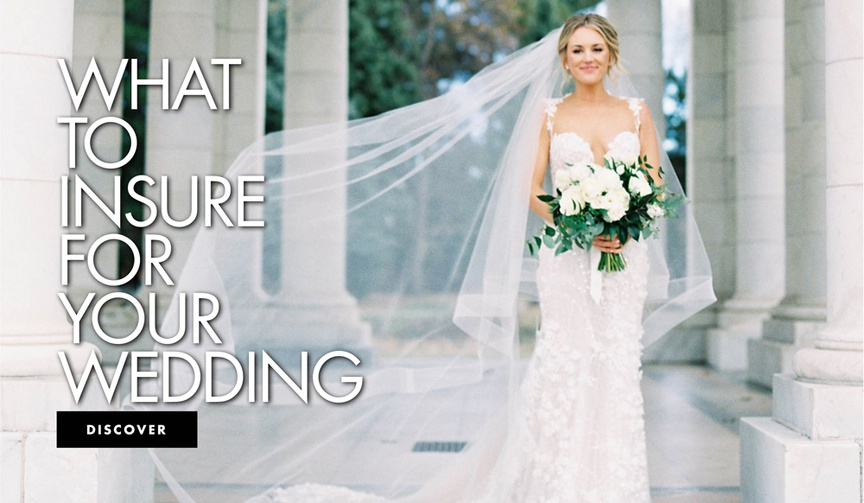 wedding insurance, what do you need wedding insurance for, what to insure for your wedding