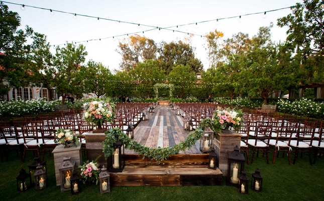 Image result for garden wedding ceremony