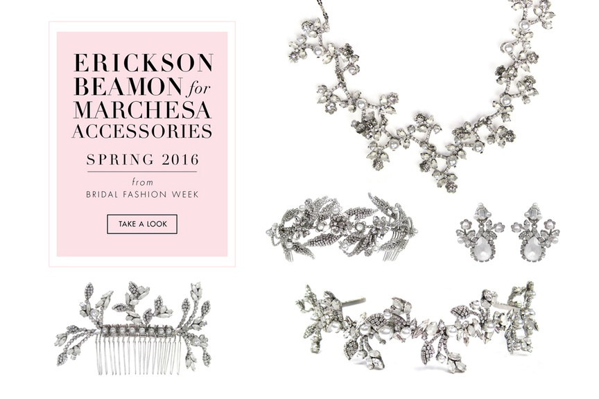 Erickson Beamon for Marchesa Jewelry & Hair Accessories
