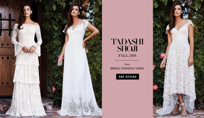 17cfb7a41f743 Bridal Fashion Week: Tadashi Shoji Fall 2018 - Inside Weddings