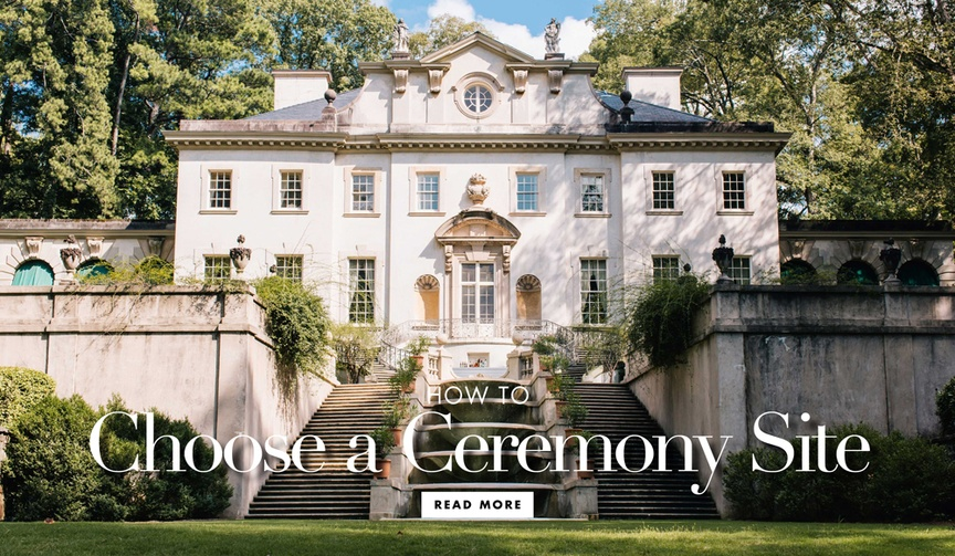 how to choose a location for your wedding ceremony checklist guide research venues