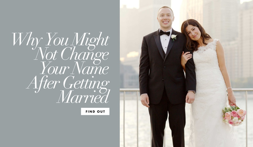 If you're still deciding on whether to keep your name, these reasons may sway you.
