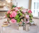 Mark's Garden flower arrangement at The Peninsula Beverly Hills bridal shower