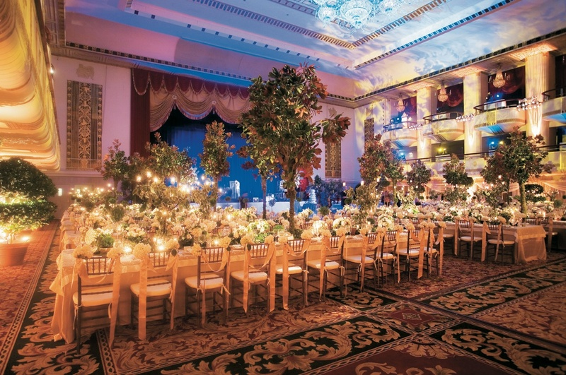 Waldorf Astoria NYC ballroom décor