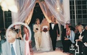 Bride walks into ceremony with mother and father