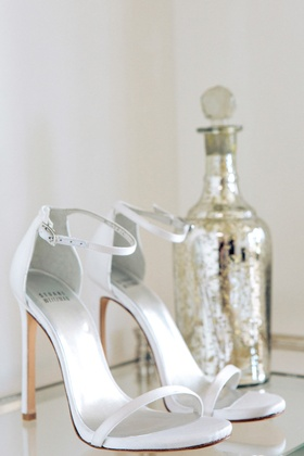 Bride wedding shoes by Stuart Weitzman