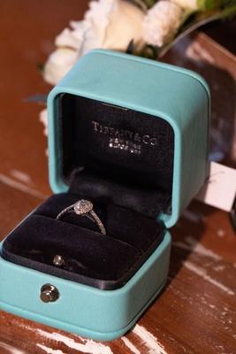 Echosmith singer Sydney Sierota and Cameron Quiseng wedding engagement ring tiffany and company halo