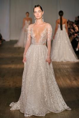 Berta Wedding Dresses with Long Sleeves