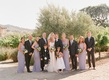 Mark-Paul Gosselaar with bridesmaids and groomsmen