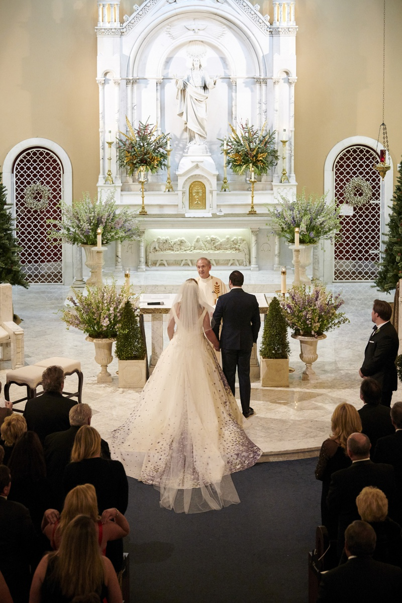 Guests Family Photos Catholic Wedding Ceremony Inside Weddings