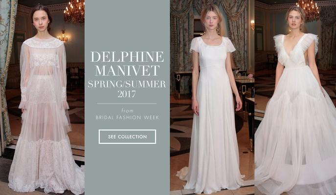 Parisian Wedding Dresses by Delphine Manivet Spring/Summer 2017 ...