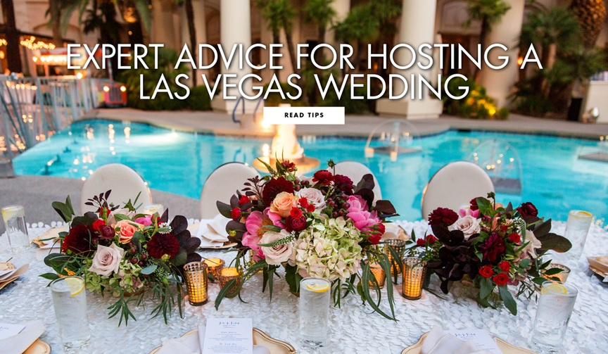 Expert wedding advice for hosting a las vegas wedding from andrea eppolito events