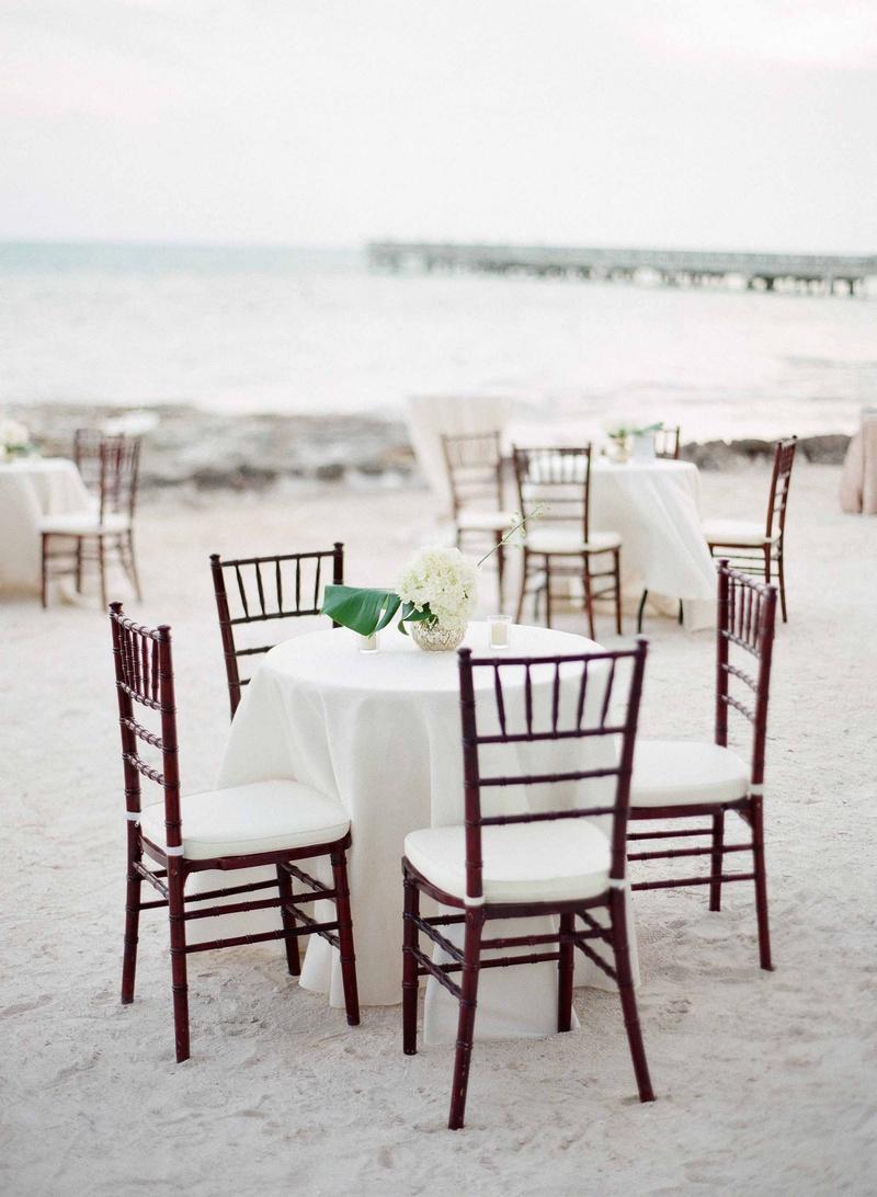 Elegant Destination Wedding with Beach Ceremony + Gilded Reception ...