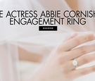 See actress abbie cornish's engagement ring from mma fighter adel kyokushin altamimi