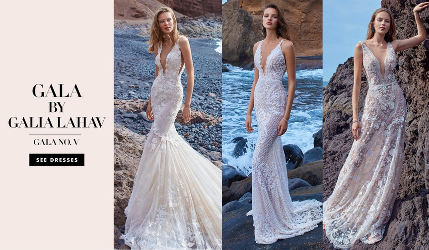 GALA No. V 5 Collection by Galia Lahav wedding dresses bridal gowns sexy styles