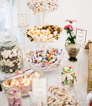 candy dessert table english british wedding reception DIY england UK