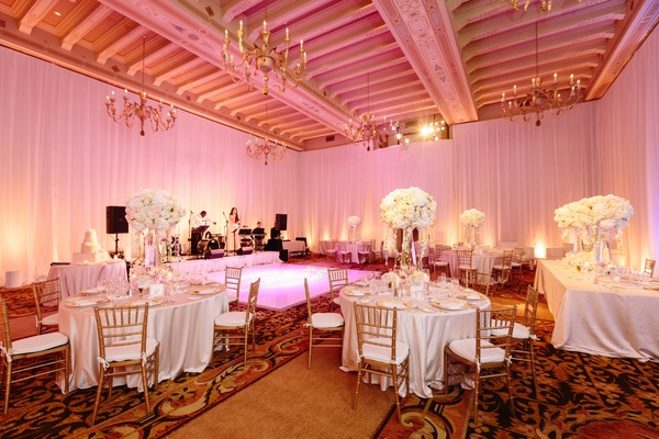 A Classic, Romantic Celebration with Lush Florals in Beverly Hills ...