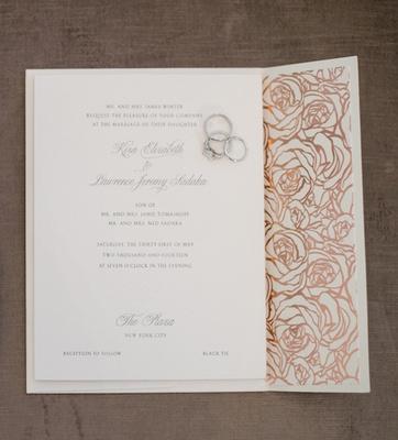 Champagne Wedding Invitations is good invitation template