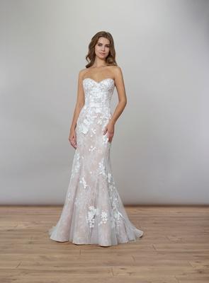 Liancarlo Spring 2020 bridal collection wedding dress spring garden strapless sweetheart neckline