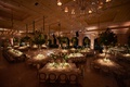 the breakers wedding, tree centerpieces, pin lights on centerpieces